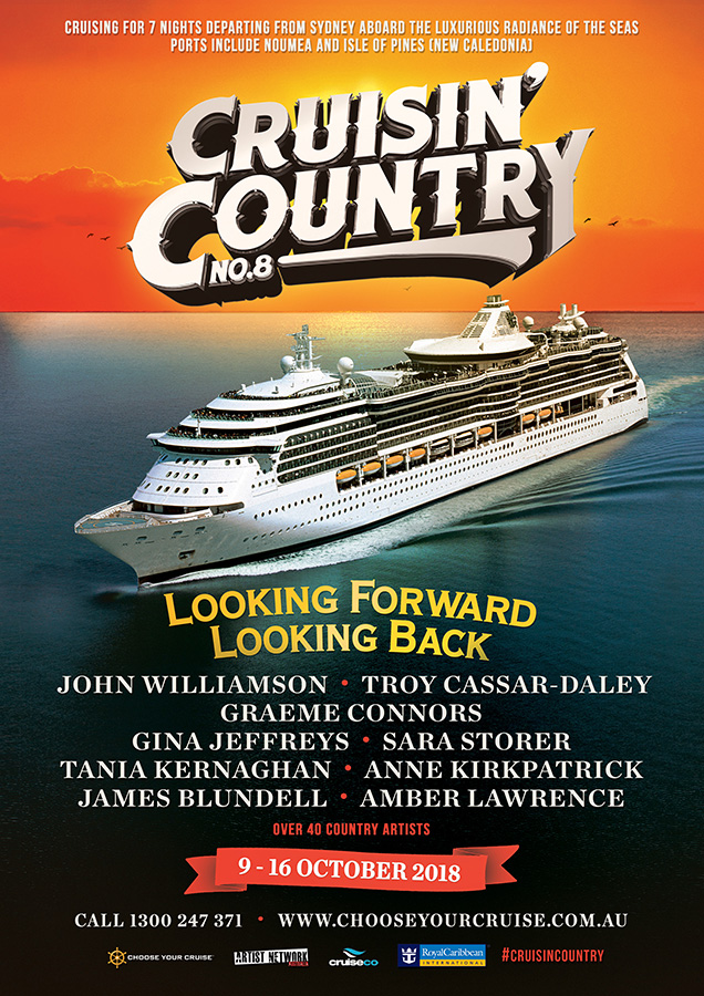 Cruisin' Country 2018 brochure