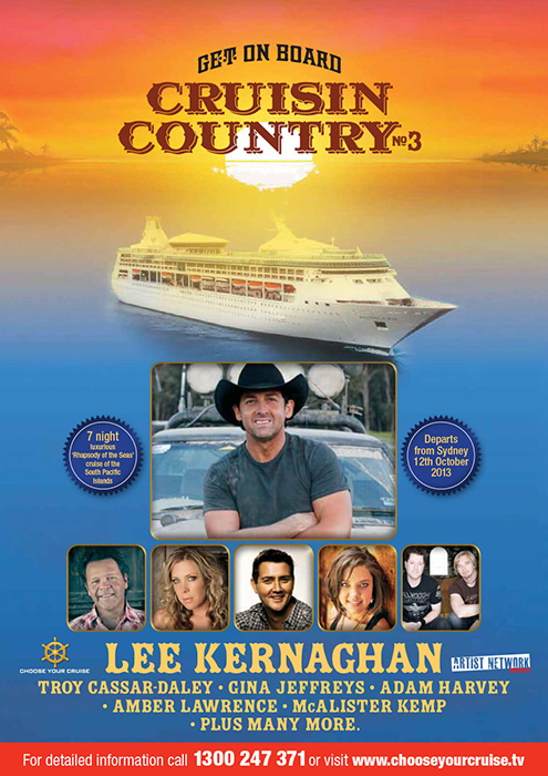 Cruisin' Country 2013 brochure
