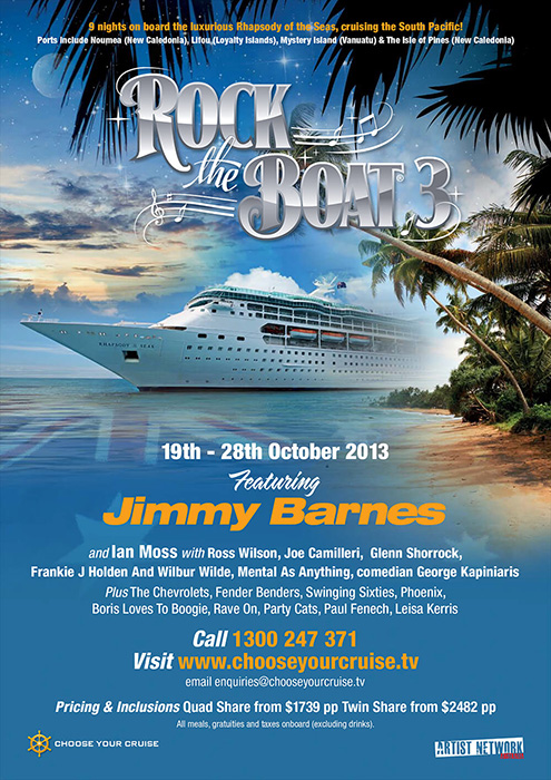 Rock The Boat 2013 brochure