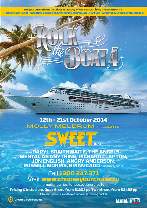 Rock The Boat 2014 brochure