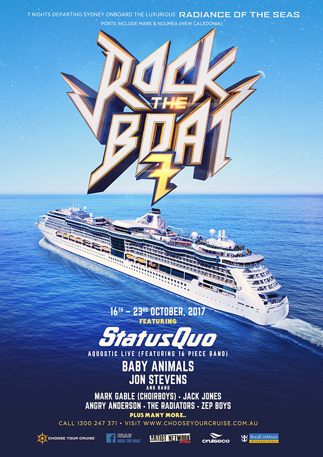 Rock The Boat 2017 brochure