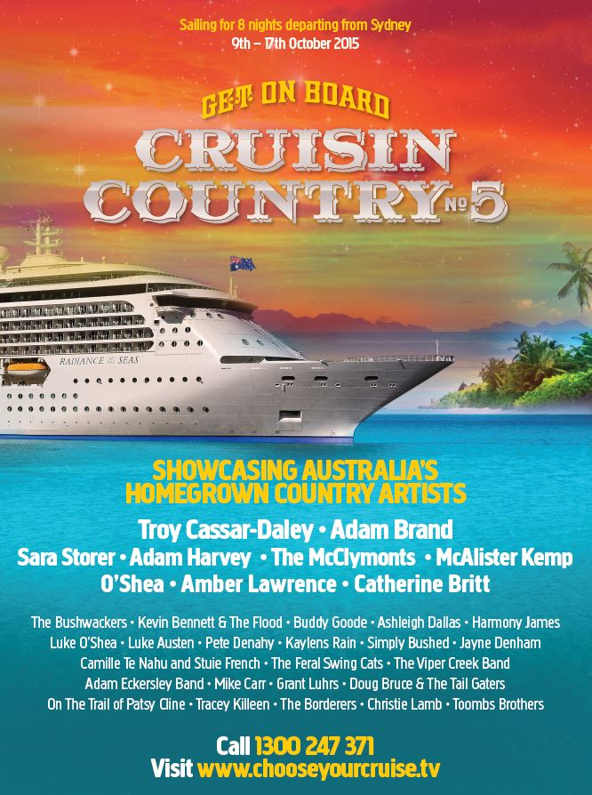 Cruisin Country 5 brochure