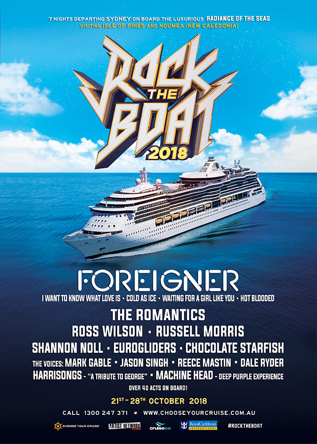 Rock The Boat Choose Your Cruise - Rocking cruise ship