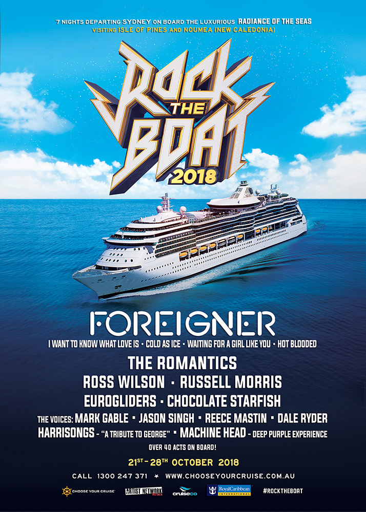 Rock The Boat 2018 brochure