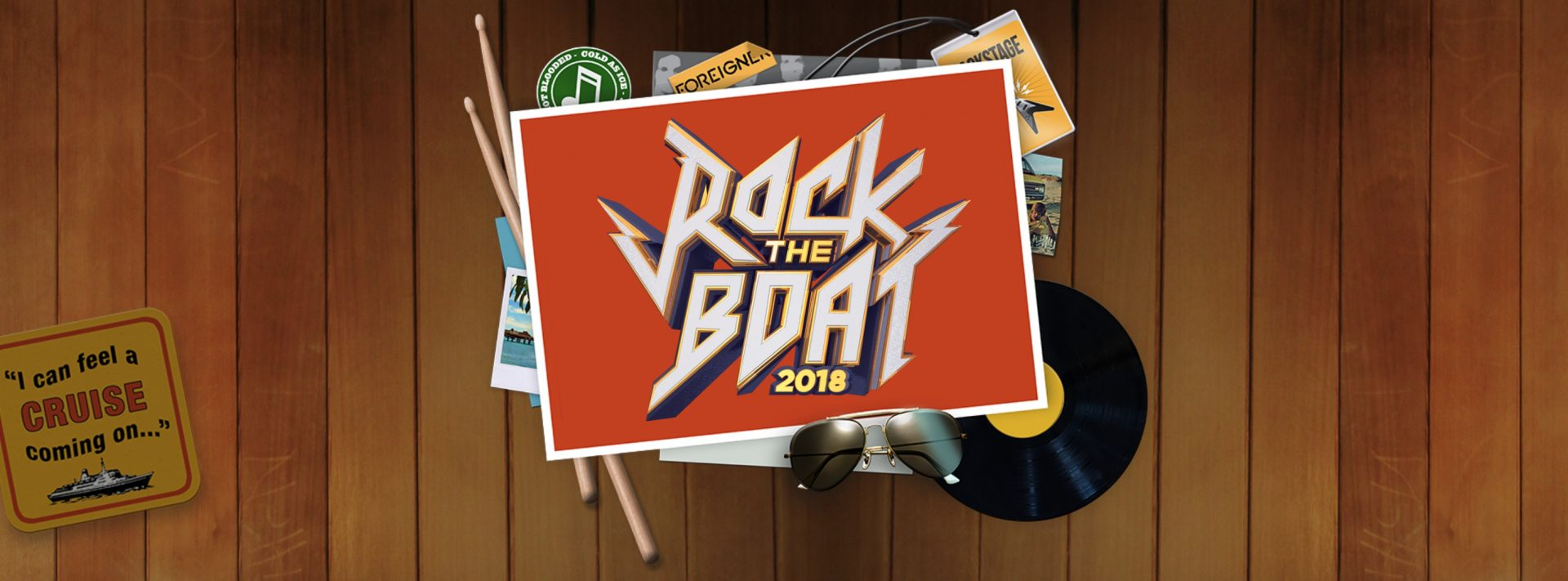 ROCK THE BOAT 2018 – ON SALE NOW!