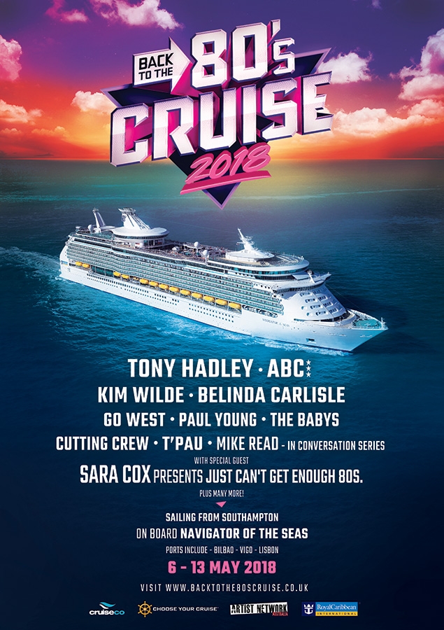 Back to the 80s Cruise UK 2018